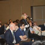 World Stroke Day today. A neurologist seen asking a question at session in World Stroke Congess today.JPG