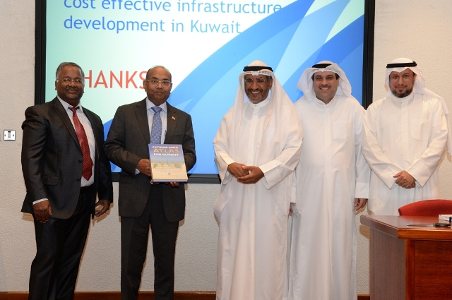 "KISR RELEASED A Book on ""Extreme Wind Atlas for Kuwait"""