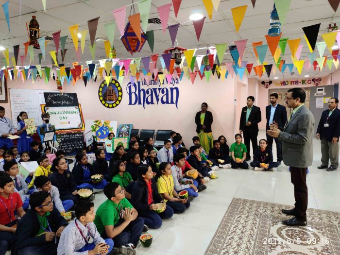 Bhavan's SIS' futuristic vision on Environment Day
