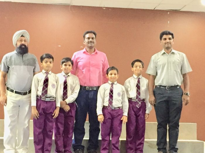 Indian Central School wins Under 11 CBSE Cluster Chess Tournament