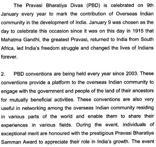 Pravasi Bharatiya Divas 2016