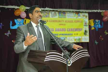 Spectacular Whizkid Award Ceremony Held at ICSK Amman