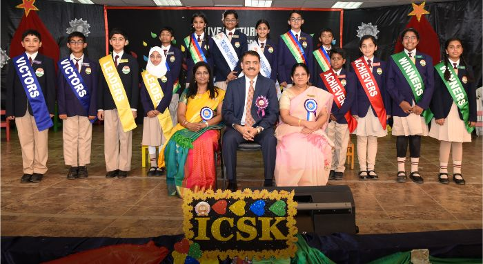 INVESTITURE CEREMONY @ ICSK JUNIOR