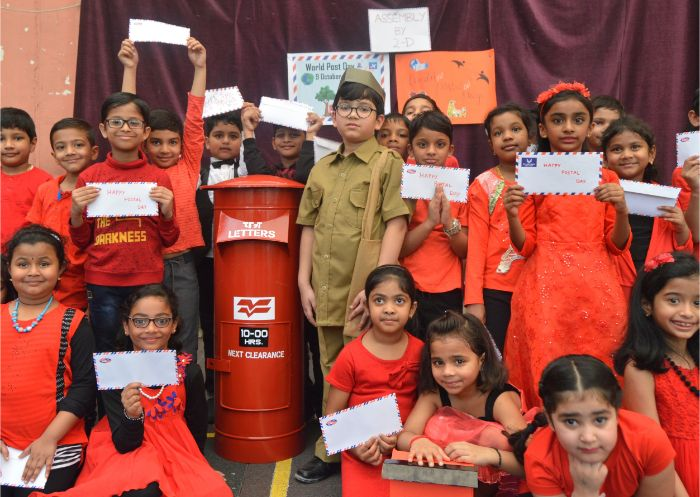 ICSK AMMAN CELEBRATES World Postal Day